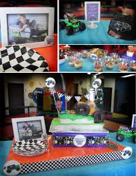 grave digger monster truck party supplies creatively quirky at home monster jude turns 4 monster jam style