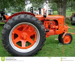 vintage case tractor editorial stock image image 22558359