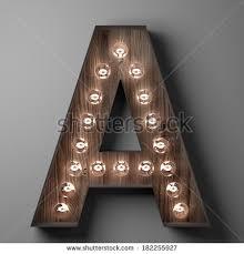 letter m sign light bulbs stock illustration 187599491 shutterstock