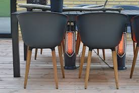 outdoor heater patio outdoor table heating safe to touch patio heater danish design