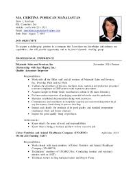 On The Job Training Resume by Resume