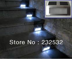 Stair Lights Outdoor Solar Stair Lights Outdoor Home Design Ideas And Pictures
