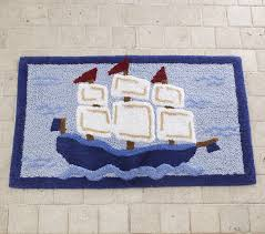 Kids Pirate Bathroom - pirate bath mat pottery barn kids
