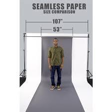 savage seamless paper white black seamless paper kit backdrop express