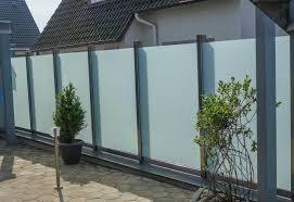 balkon sichtschutz aus glas schutzwand 02 metallbau heiner dressrüsse gmbhmetallbau heiner
