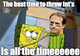 Drew Brees Memes - nfl meme drew brees 2 interceptions in the panther game alone