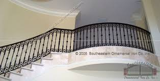 Iron Banister Stair Rails