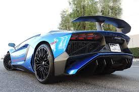 lamborghini aventador for sale in california blue lamborghini aventador listed for sale in california