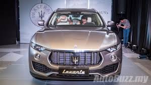 first drive 2017 maserati levante 2017 maserati levante launched in malaysia 3 0l diesel priced at