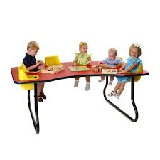 6 seat toddler activity table hayneedle
