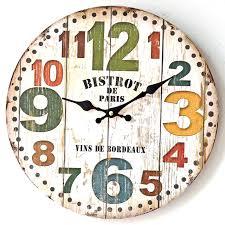 aliexpress buy american style wall stickers bell clock