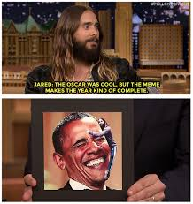 Jared Leto Meme - fallon tonight on twitter jaredleto finally weighs in on the