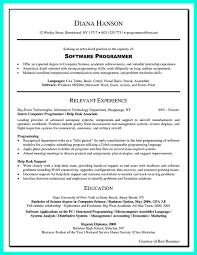 programmer resume exle computer programmer resume has some paragraphs that focuses on the