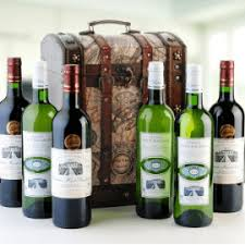 Wine Set Gifts Wine Gifts Bordeaux Six Chest Set From Winedancer Com