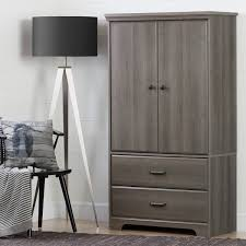 Armoire Drawers South Shore Versa 2 Door Armoire With Drawers Free Shipping