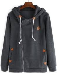 women hooded drawstring pocket sweatshirt 13 82 clothes