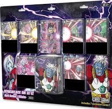 dragon ball super card expansion deck dark demon u0027s villains