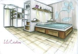 comment dessiner une chambre en perspective dessin d une chambre photos solutions pour la apprendre a dessiner