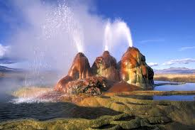 Nevada Natural Attractions images World wonders fly geyser nevada united states of america an jpg