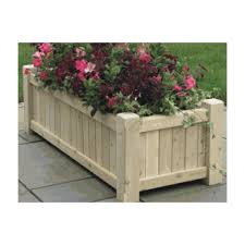 lazy hill farm large cedar planter box