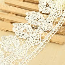 bulk lace ribbon 2pcs set 1yard trim lace ribbon vintage cotton crochet edge diy
