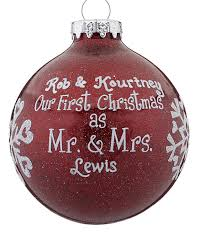 our as mr mrs glitter glass personal