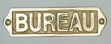 plaque bureau plaque de porte en laiton avec motif bureau décoration marine
