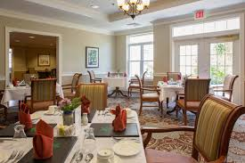 restaurant quality assisted living dining the residence at cedar