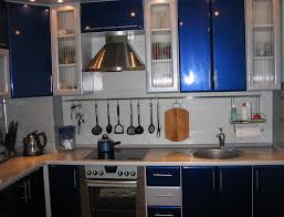 modern l shaped kitchen designs black painted kitchen cabinet mixed gray tone counter top and