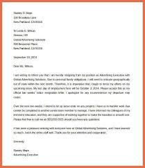 notice letter 2 week notice letter 40 two weeks notice letters