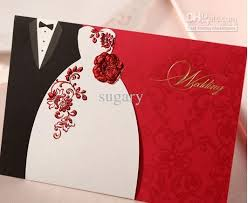 groom and groom wedding card and groom wedding invitations bronzing dimensional flowers