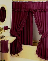 Swag Shower Curtain Sets Bathroom Curtain Swags Decorate The House With Beautiful Curtains