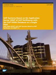 hana and abap on one server pdf sap se installation computer