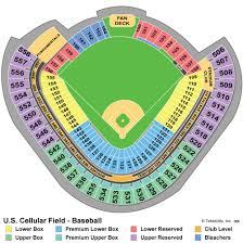 Fenway Park Seating Map Us Cellular Field Chicago White Sox The Best Foul Ball Seats