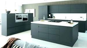 exemple de cuisine moderne cuisine grise et blanche peinture cuisine grise tras joli exemple
