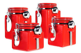 kitchen canister sets walmart canister set airtight 3 square kitchen canister set