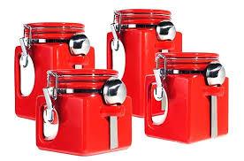 walmart kitchen canister sets red canister set bikepool co