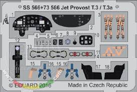 T 72 Interior Eduard Models 1 72 Hunting Percival Jet Provost T 3 T 3a