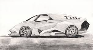car lamborghini drawing lamborghini egoista by ji zon on deviantart