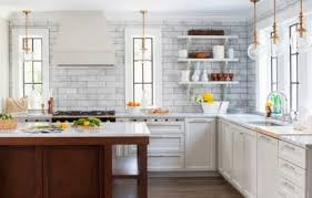 Open Kitchen Shelves Instead Of Cabinets Kitchen Designs With No Wall Cabinets Are Quite Functional Dig