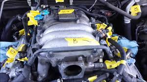 isuzu rodeo intake manifold removal part 1 youtube