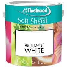 washable paint for walls fleetwood vinyl matt brilliant white paint 10 litre white