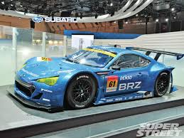 nissan brz subaru brz to deal out the pain in gt300 intel super street