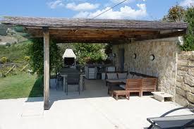 Outdoor Kitchen And Dining Pool And Garden U2013 Villa Coramaura
