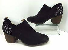 womens studded boots size 11 naya womens valerie studded black suede ankle boot size 11 ebay