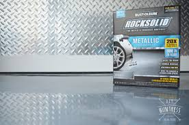 Rustoleum Garage Floor Coating Kit Instructions by Rustoleum Rock Solid Retreat Dad U0027s Garage Makeover Diy Huntress