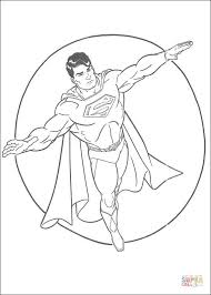 superman coloring pages online superman hero coloring page free printable coloring pages