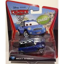 cars movie characters amazon com disney pixar cars 2 movie die cast vehicle becky