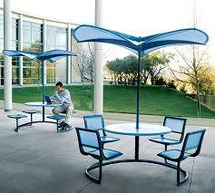 Patio Furniture Umbrella Shade 35 Modern Umbrella Shapes The Future Of Outdoor Furniture