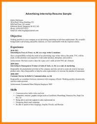 sle internship resume marketing intern resume best market 2017